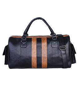 Túi xách du lịch unisex VNL cao cấp đen TXDL124D