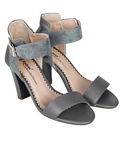 Giày cao gót nữ 9 phần style - Xám