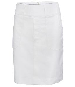Chân váy nữ kaki thời trang - Trắng