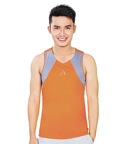 Áo thể thao nam Summer Tanktop ALIEN ARMOUR ST01 - Cam