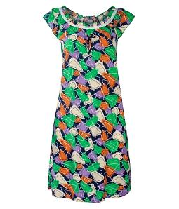 Đầm mặc nhà T21 thời trang - Cam