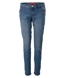 Quần jeans dài nữ ECO JEAN thời trang 027 - Xanh