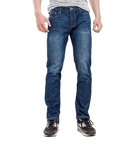 Quần jeans nam loang màu ALE 61221BS