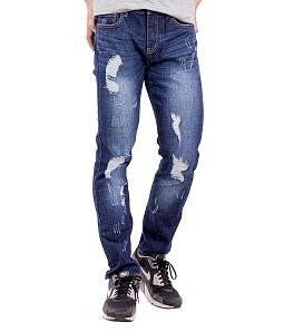 Quần jeans nam rách cá tính ALE 61183LSK - Xanh