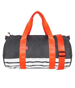 Túi xách du lịch nam nữ vải dù Dutti - Xám