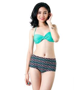 Bikini 2 mảnh thổ cẩm xinh xắn CORAL BS017