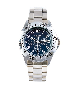 Đồng hồ nam SKONE A-1517 - Xanh đen