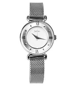 Đồng hồ nữ Julius JA728 cao cấp - Trắng