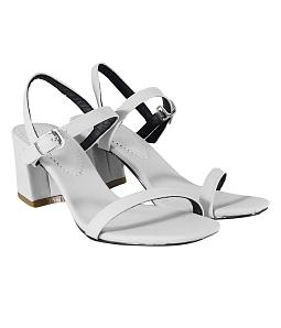 Giày sandal gót vuông SULILY SGV01-IV16 - Xám