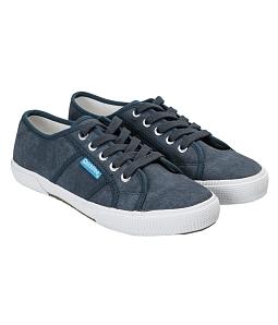 Giày Cột Dây Unisex QuickFree PAN W160505 - Xanh đen