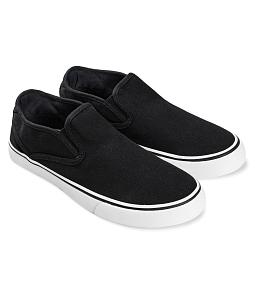 Giày lười nam năng động AQUA L005 - Đen