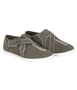 Giày QuickFree G140203 - PAN Canvas unisex - Xám đậm