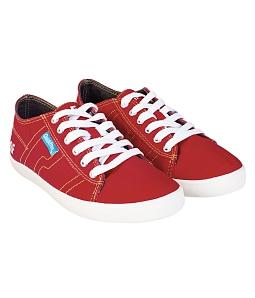 Giày QuickFree G140204 - PAN Canvas Unisex - Đỏ