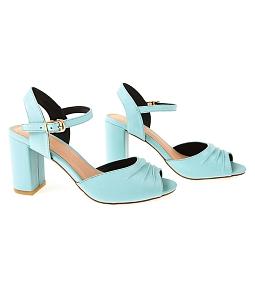 Giày sandal gót vuông SULILY SGV2-I17 - Xanh