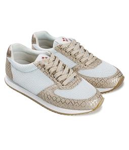 Giày thể thao nữ mix bạc SUTUMI SUW006 - Vàng
