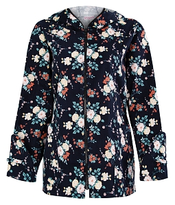 Áo chống nắng họa tiết hoa xuân thời trang - B
