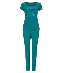 Bộ đồ mặc nhà NITIMO fashion 7079BDCT - Xanh