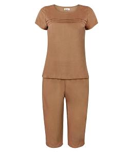 Bộ đồ mặc nhà xếp ly ngực QUẾ LÂM 416020