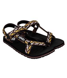 Giày Sandal nữ DVS cá tính WF047 - Nâu