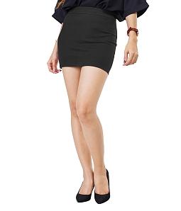 Chân váy ôm ngắn công sở SKYVER  J-02 - Xám
