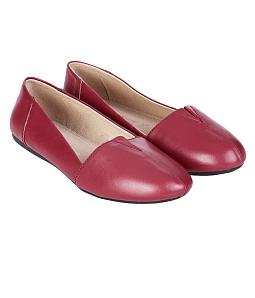 Giày búp bê nữ BB03 xẻ cổ cá tính