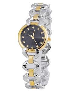 Đồng hồ nữ dây xích sang trọng - Đen