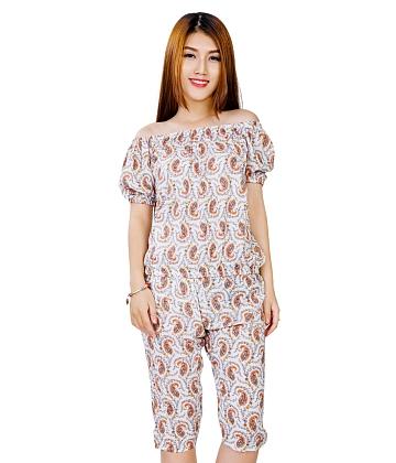 [Thời trang HOT Zanado] Đồ bộ nữ mặc nhà họa tiết dễ thương