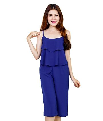 [Thời trang HOT Zanado] Sét quần lửng áo hai dây thời trang