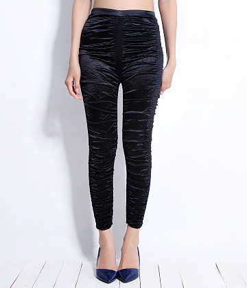Quần legging thun nhún New fashion