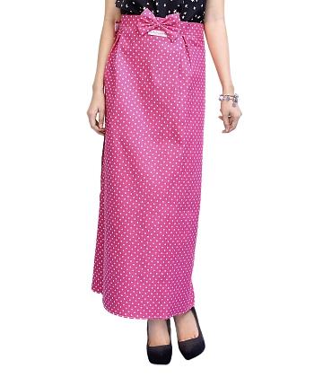 Váy chống nắng kaki chấm bi SG SID30473