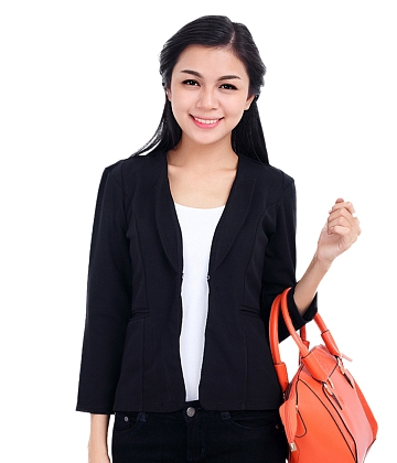 Áo khoác cổ giả vest