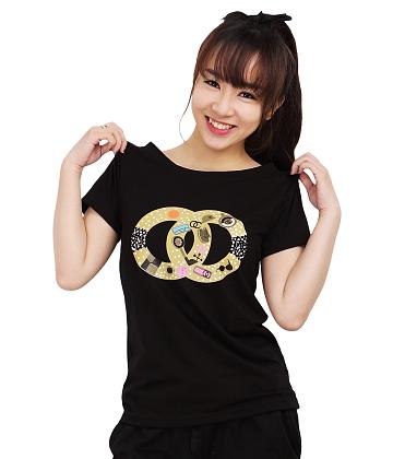 Áo thun nữ họa tiết đáng yêu SID27707