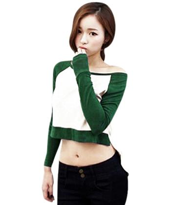Áo thun nữ tay dài kiểu dáng Mullet SID5997
