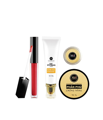 Combo make up MH Natural Skincare CBMK02 son đỏ đất - A1