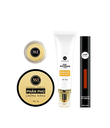 Combo make up MH Natural Skincare CBMK08 son cam đất