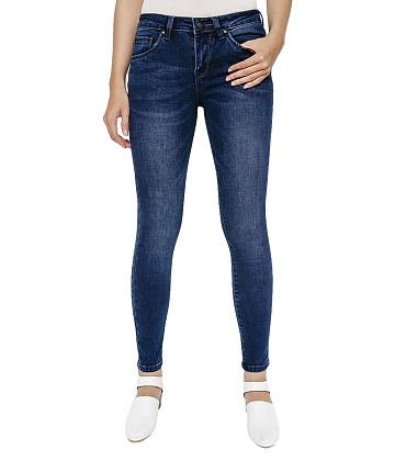 Quần skinny jean nữ AAA JEANS MR26 - A0