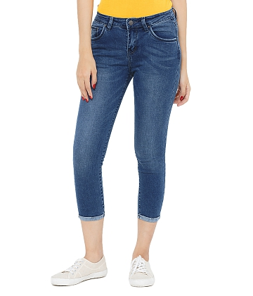 Quần skinny jeans lửng nữ AAA JEANS AR26