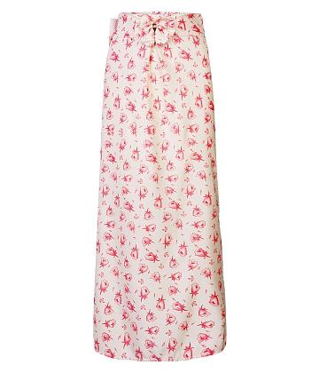 Váy chống nắng nữ 1 lớp hoa lá SID43317