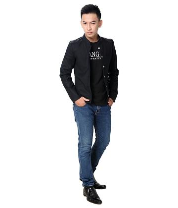 Áo khoác kaki nam giả vest - A6