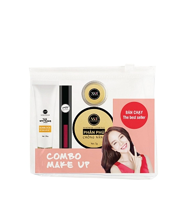 Combo make up MH Natural Skincare CBMK06 son hồng cam - A2