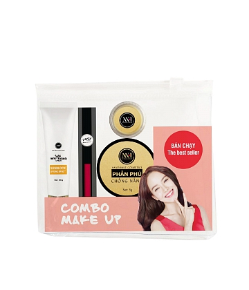 Combo make up MH Natural Skincare CBMK07 son hồng - A2