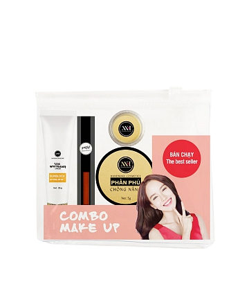 Combo make up MH Natural Skincare CBMK08 son cam đất - A2