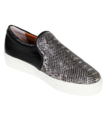 Giày Slip - on MUST Korea Unisex da rắn S02 - A1