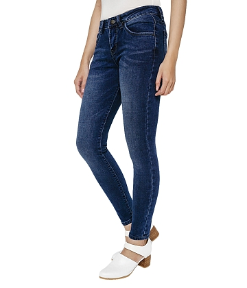 Quần skinny jean nữ AAA JEANS MR26 - A1