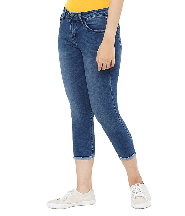 Quần skinny jeans lửng nữ AAA JEANS AR26 - A1