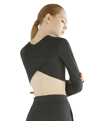 Áo crop top X-BACK Can De Blanc T1057 - A2