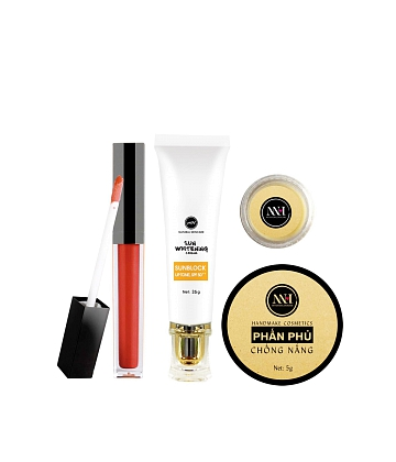 Combo make up MH Natural Skincare CBMK08 son cam đất - A1