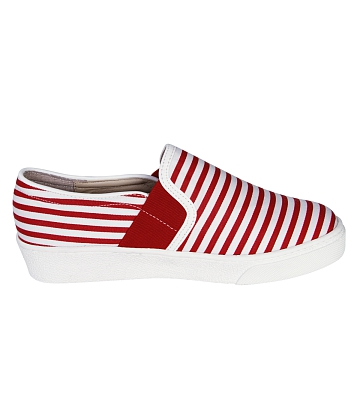 Giày Slip - on MUST Korea sọc unisex U05 - A2