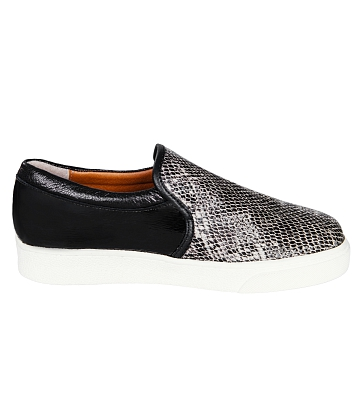 Giày Slip - on MUST Korea Unisex da rắn S02 - A2
