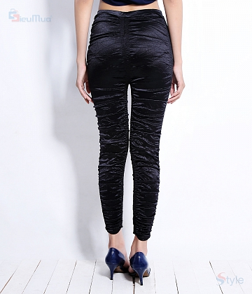 Quần legging thun nhún New fashion - A1
